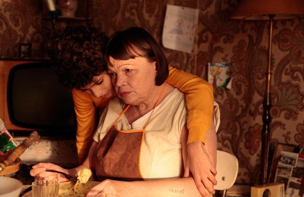 Julien Soster (Momo) et Myriam Boyer (Mme Rosa)